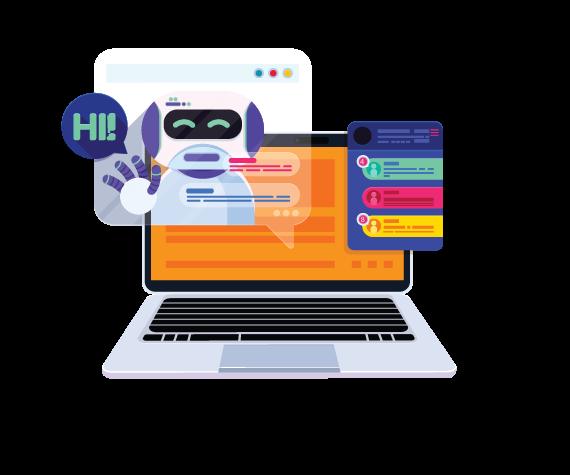 agence développement et création chatbot